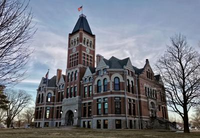 Fillmore County Courthouse stock