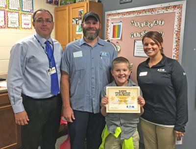 This month's Star Student of the Month: Isaac Liner