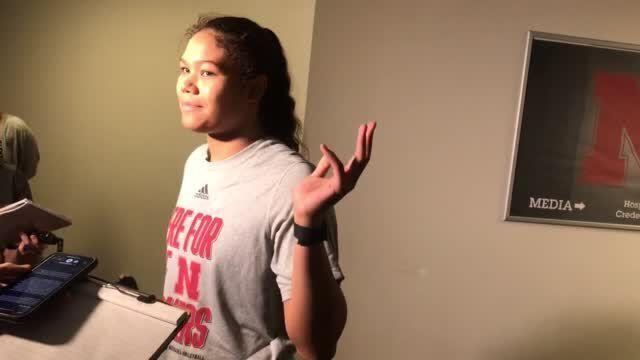 Watch now: Kennedi Orr ready for first college match