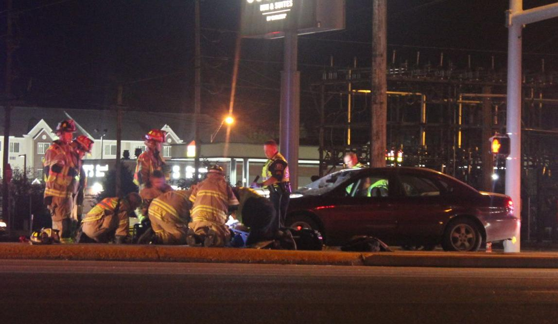Two Injured In Car Pedestrian Accident Local