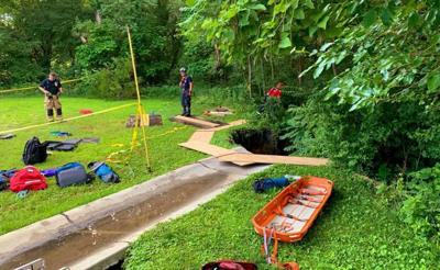 Ponca Hills rescue