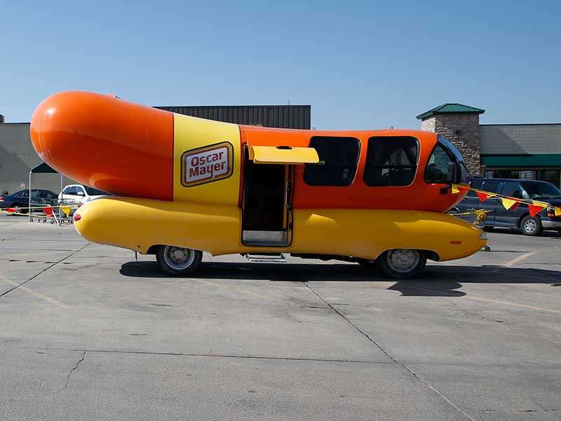 Tmcc Controlled Oscar Mayer Wienermobile additionally 291239 moreover 11 Strange Vehicles moreover Yet Another Oscar Mayer Wienermobile in addition Curiosity21. on oscar mayer wienermobile job