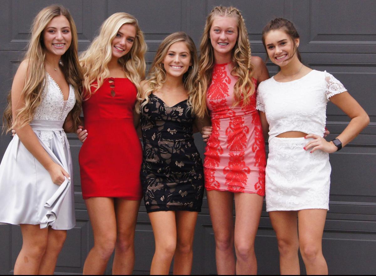 Alex Minardi with her friends