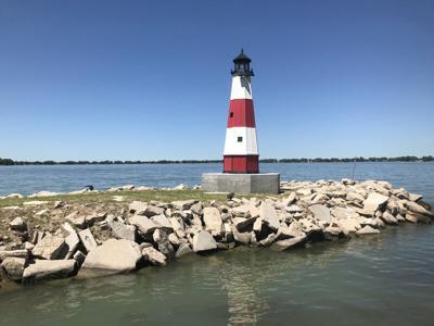 Johnson Lake lighthouse