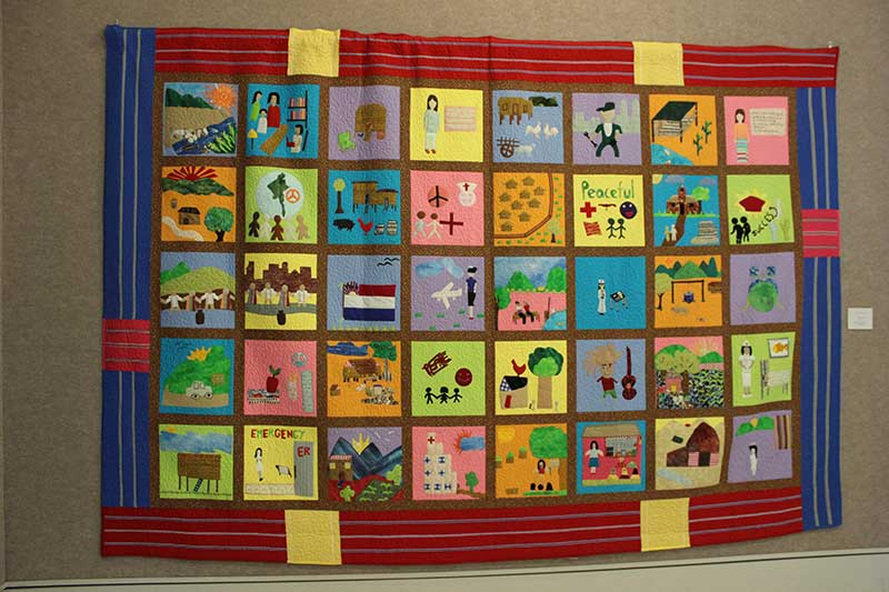 Quilted Conscience project