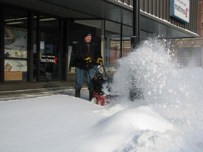Kearney Crews Have Plowed 12 Inches Of Snow In The Past 5
