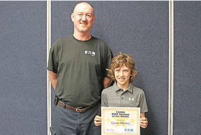 This month's Star Student of the Month: Garrett Hardesty