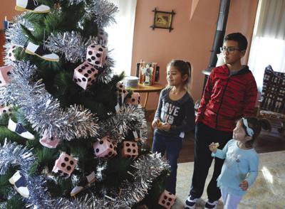 Christmas tree walk