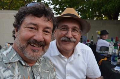 Rob Luscher and Mark Foradori