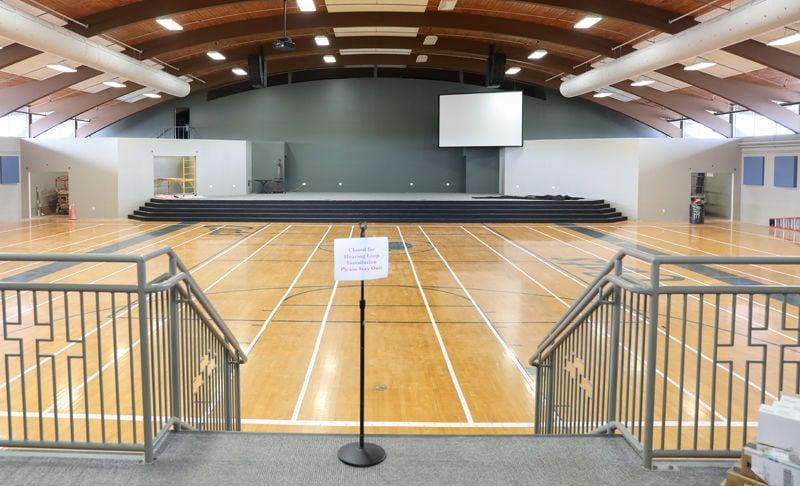 First Baptist sanctuary