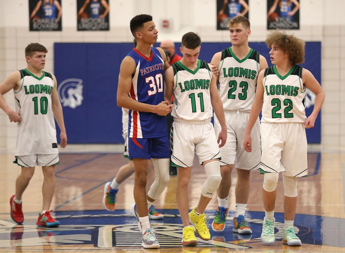 Loomis vs. Parkview Christian boys state basketball