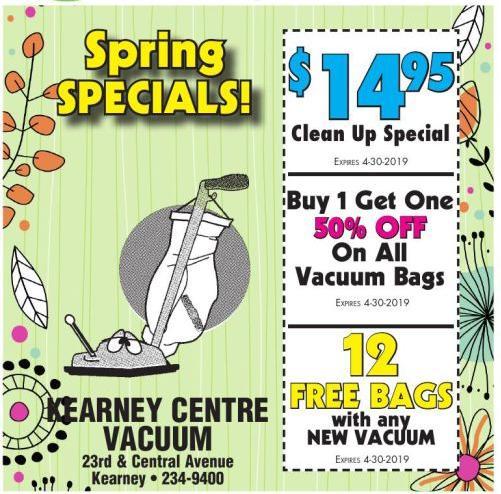 Kearney Centre Vacuum