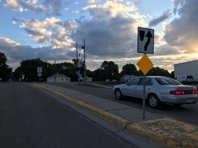 Ffith avenue railroad crossing
