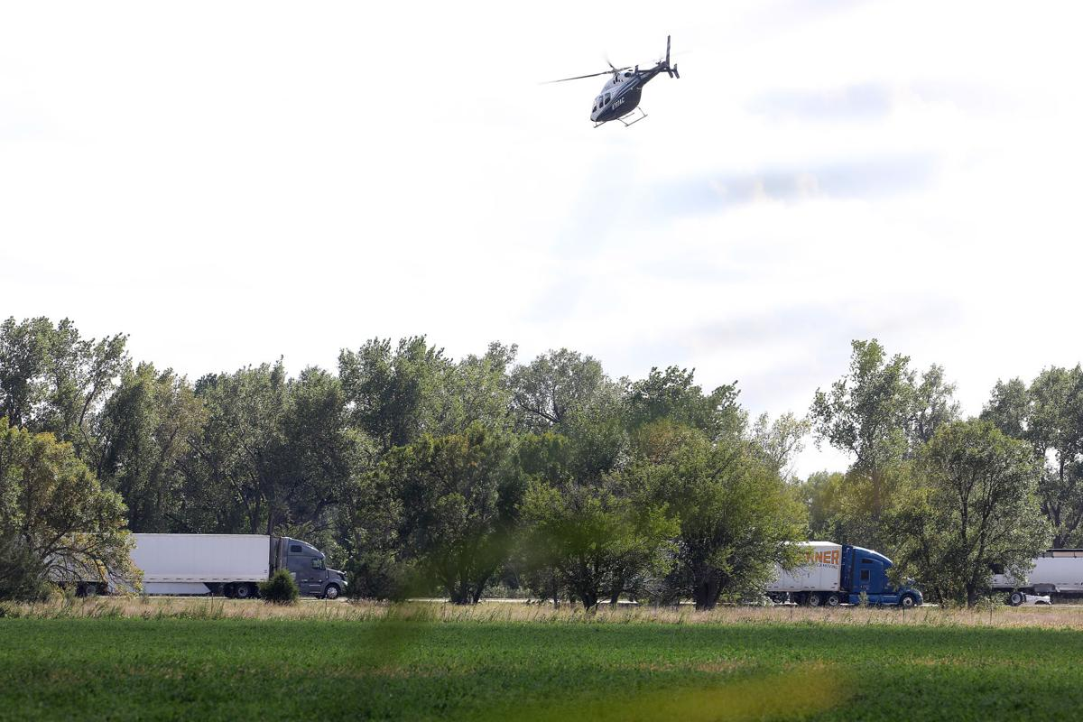 Air Care at I-80 Accident