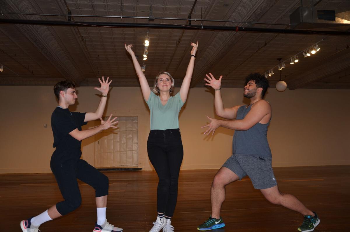 Nathan Bonsall, Mollie Craven and Matthew Carter