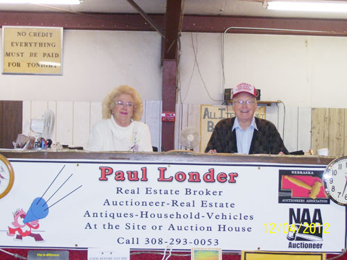 Londers Auction | Jody and Paul