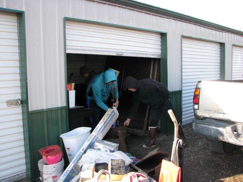 Storage Unit in Gibbon flooded