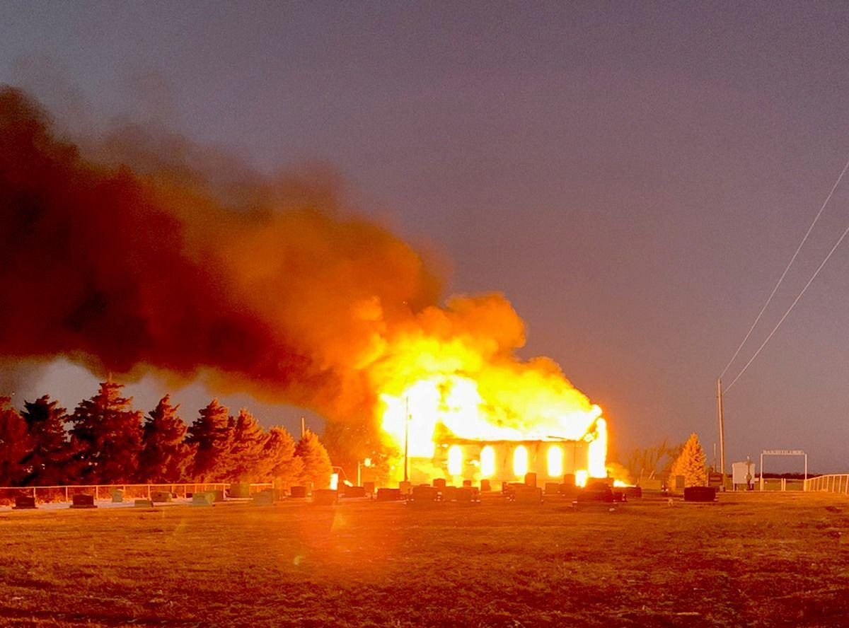 North Shelton Zion Lutheran Church fire