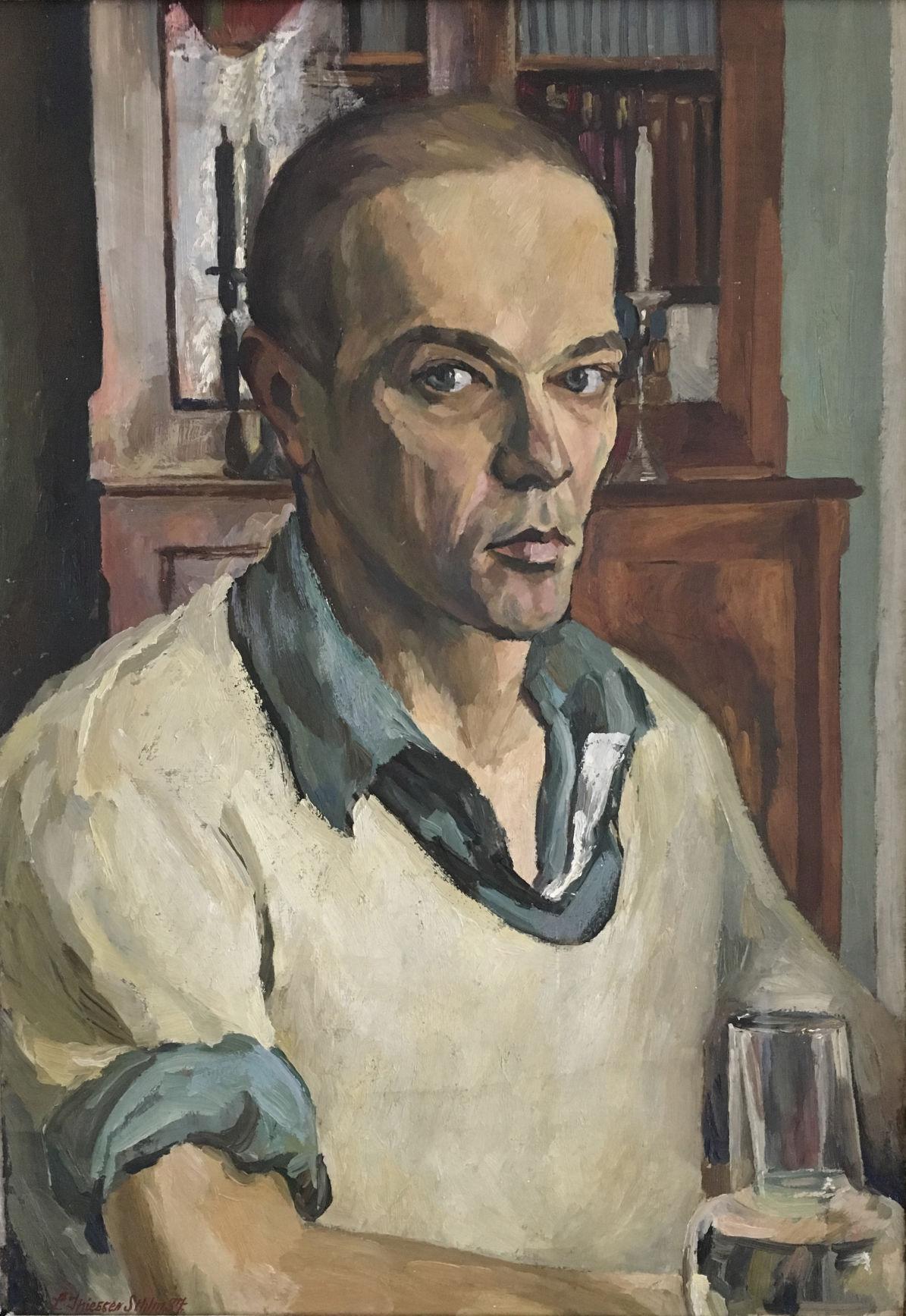 """""""Self-Portrait,"""" by Leonard Thiessen"""