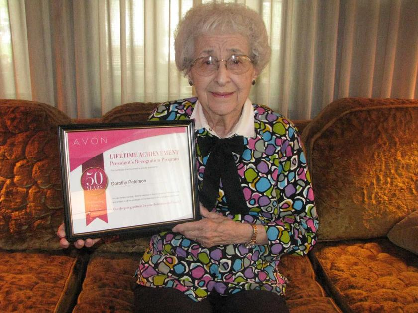 92-year-old Kearney woman has been selling Avon since 1967