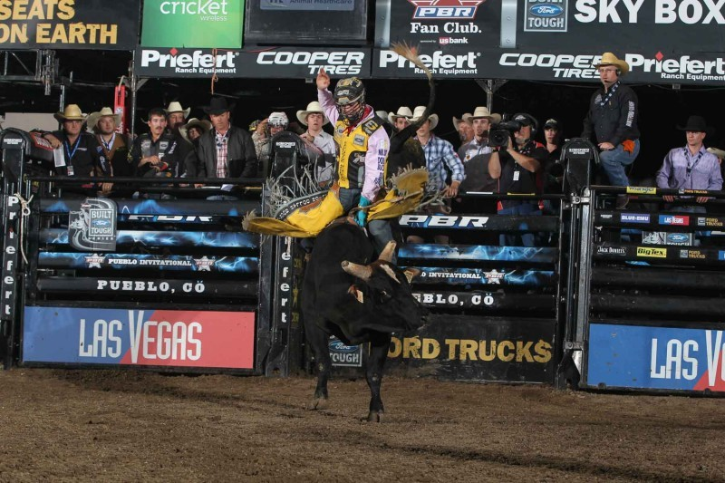 HUB PICK: Saddle up for PBR bull-riding challenge today