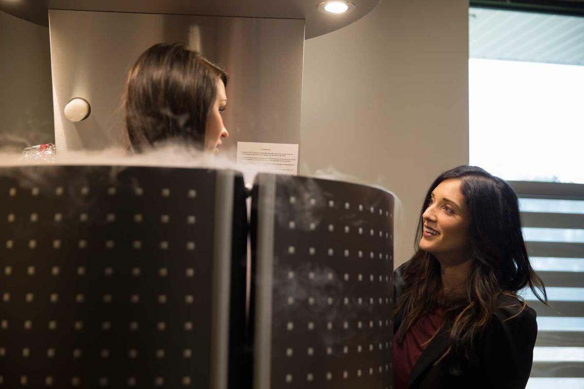 Living pain-free is cool: Cryotherapy treatments used to