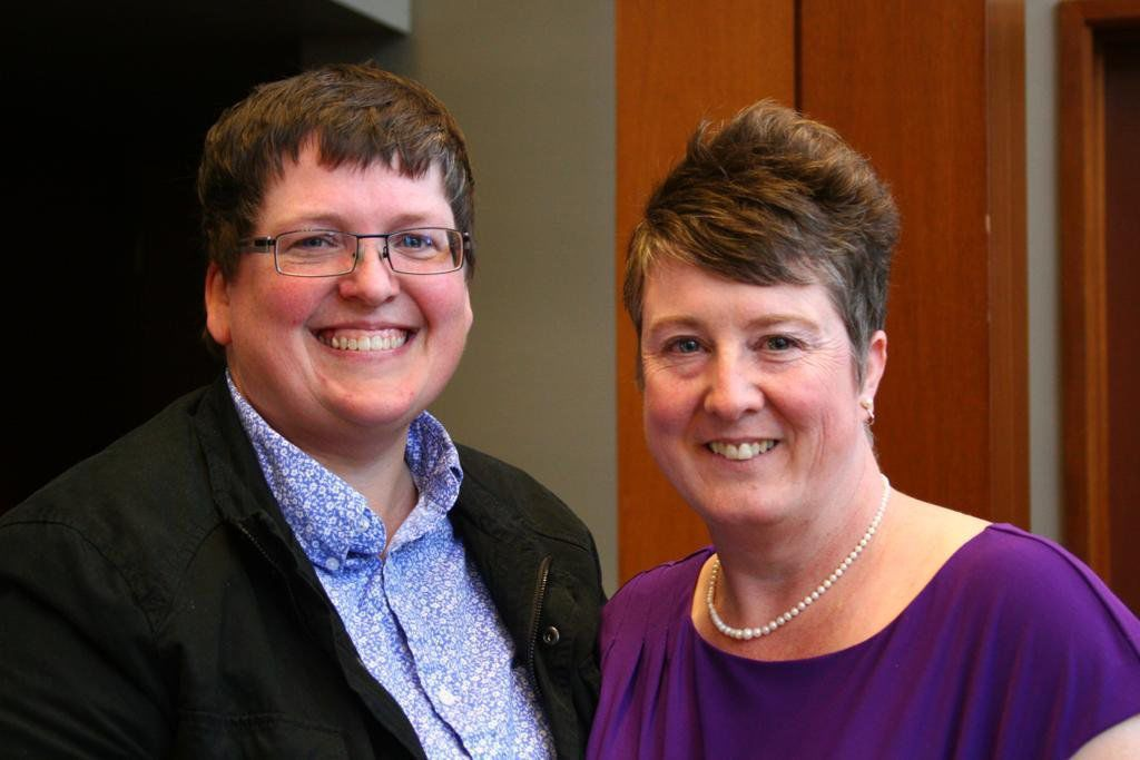 Carol Bond and Abbi Swatsworth