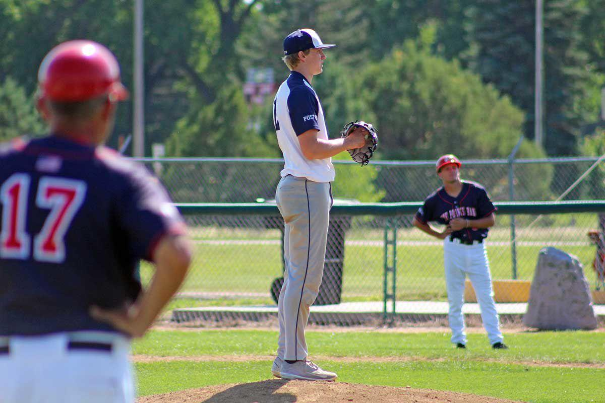 Starting pitcher Seth Stroh