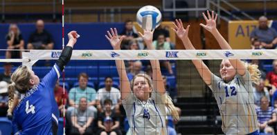 UNK vs York College volleyball