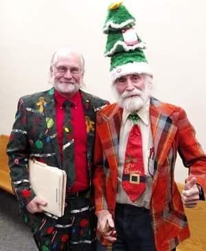 Stephen Potter at Christmas