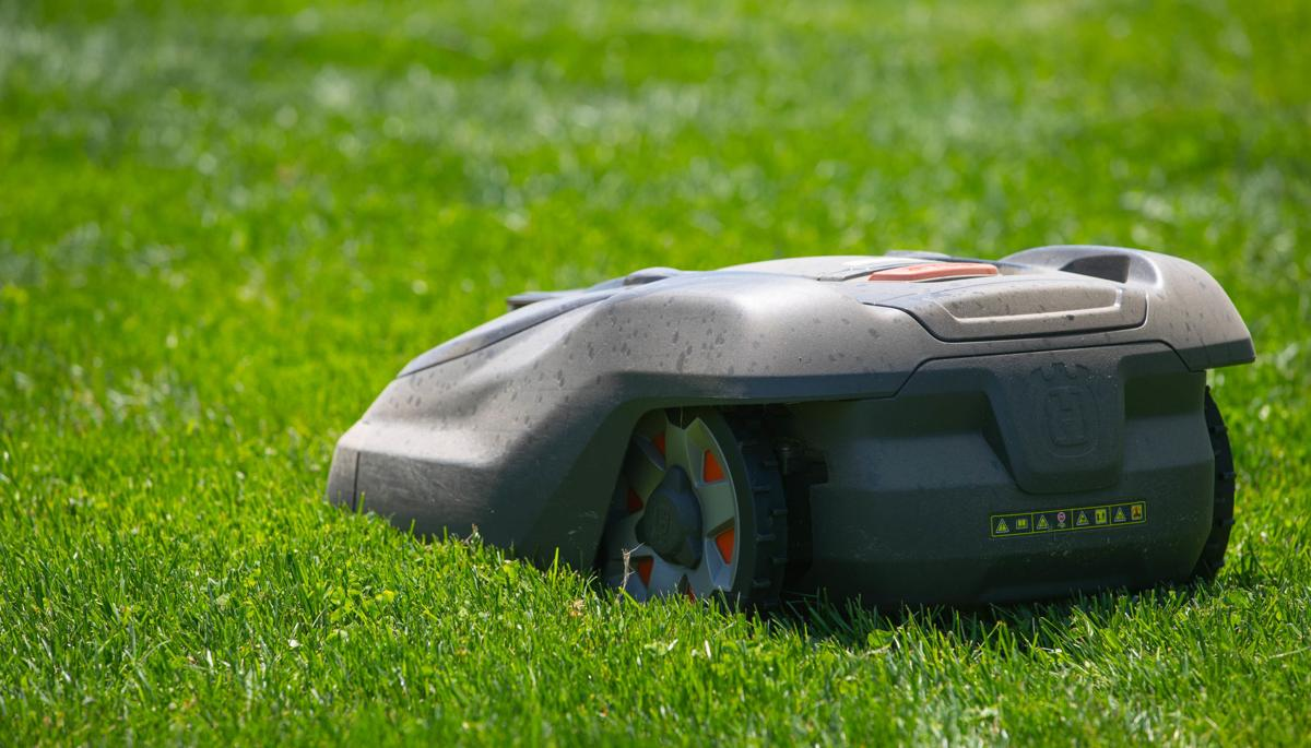 Robotic mowing