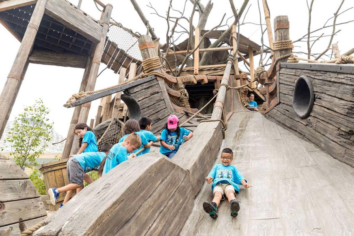 Slide In Omaha Zoo S New Children S Adventure Trails