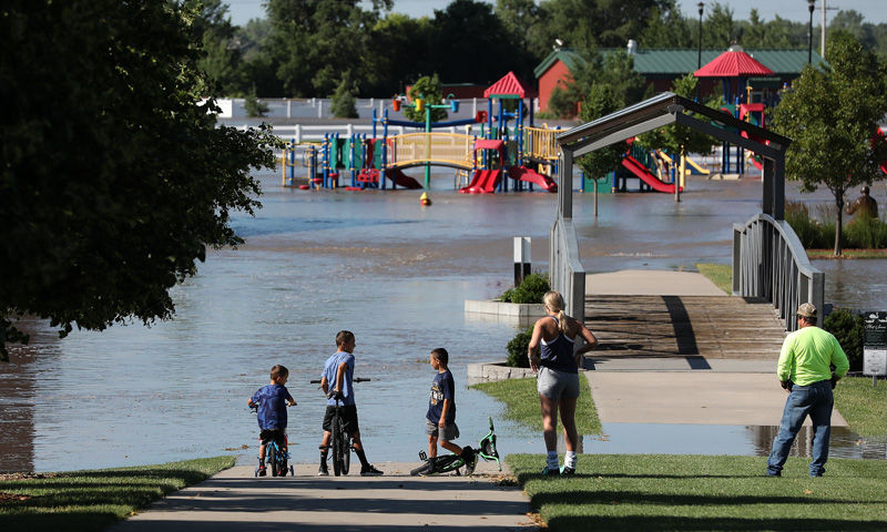 Yanney Heritage Park flooding