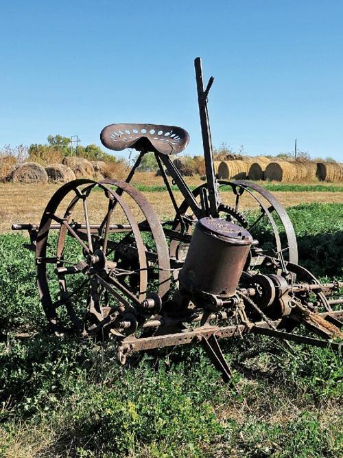 A Life On The Land Horse Drawn John Deere Corn Planter Local