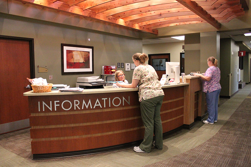 Information Desk in the PMHC Addition (copy)