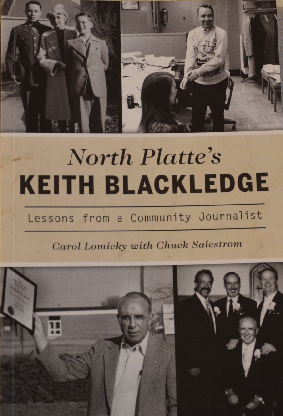 """North Platte's Keith Blackledge: Lessons from a Community Journalist"""