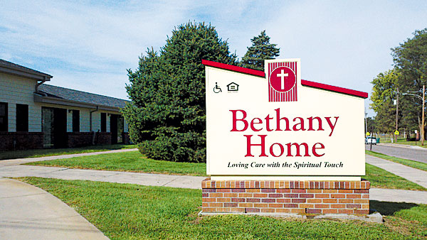 Bethany Home Sign