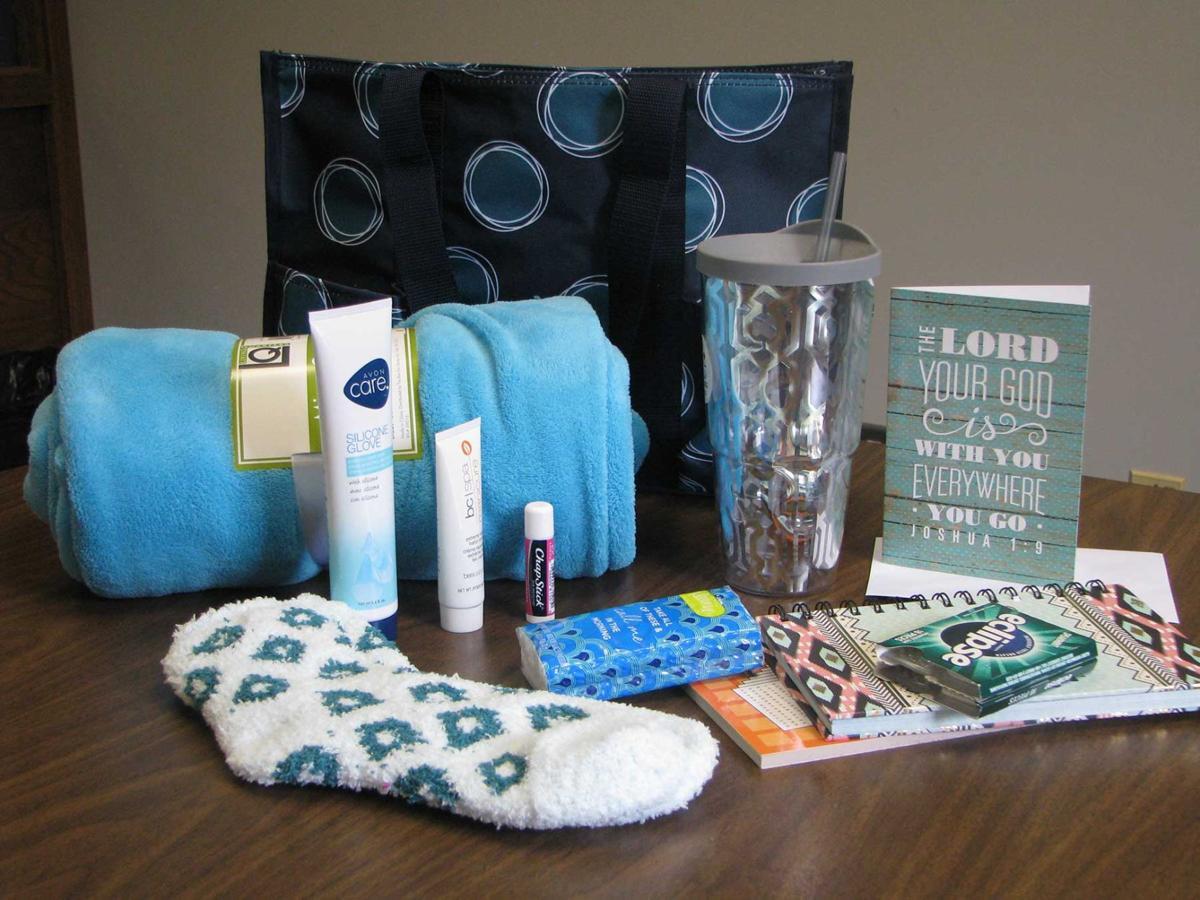 Blessings in a bag: Program packs useful items for