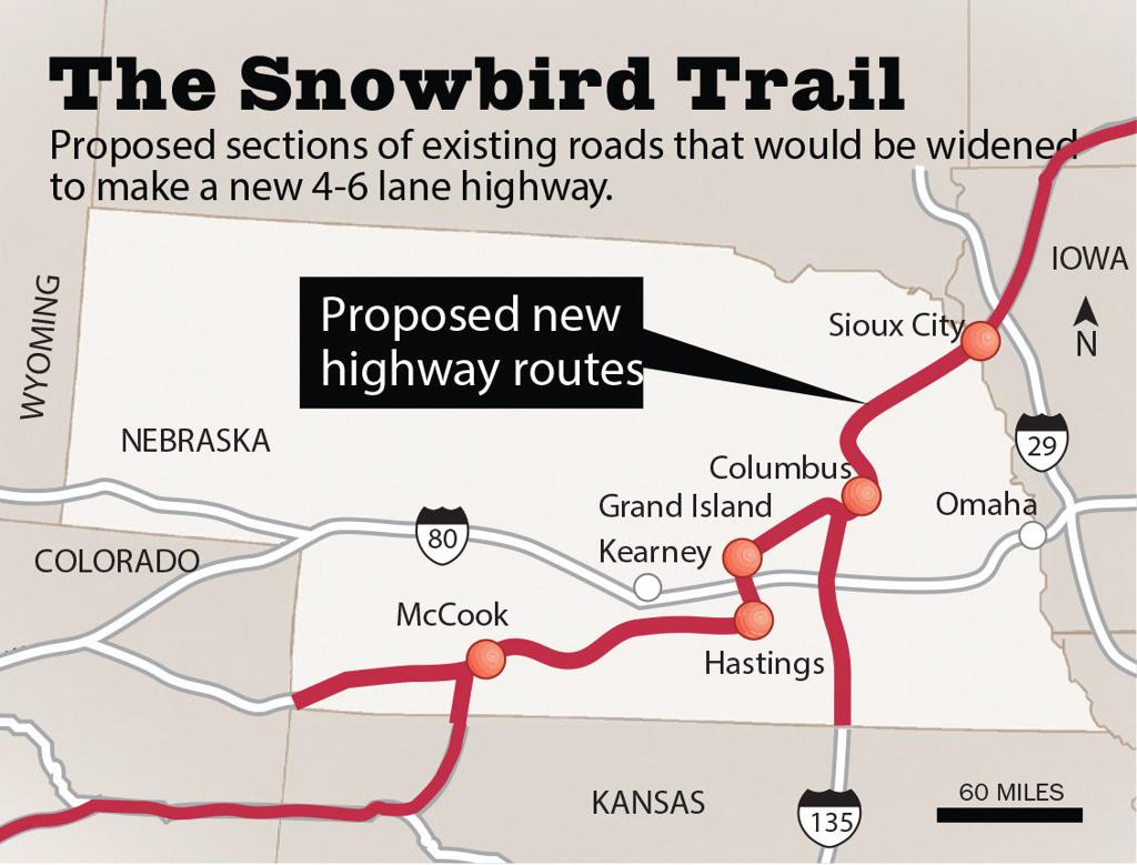 Denver To Omaha Drive retired surgeon wants to see snowbird trail, a highway from
