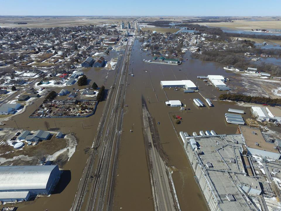 Wood River floodwaters