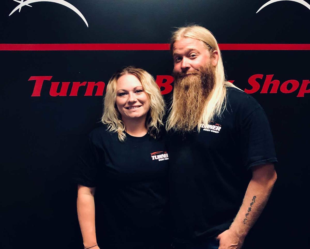 Tony and Ashley Turner