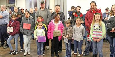 This month's Star Students of the Month: Bryant Elementary students