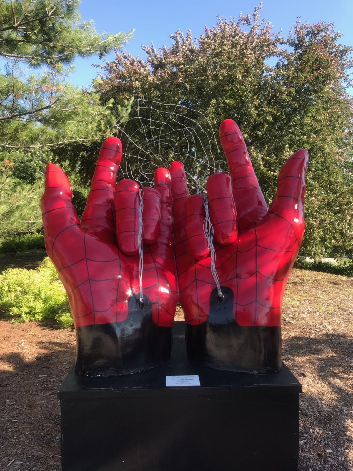 Are spideman's hands doing the work of the devil?