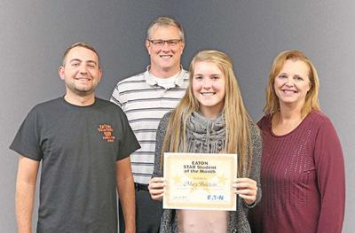 This month's Star Student of the Month: Macy Baldwin
