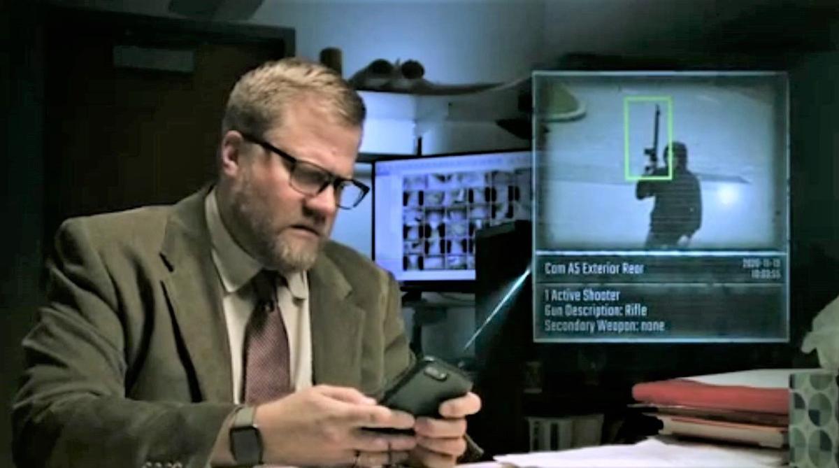 Zero Eyes demo weapons detection