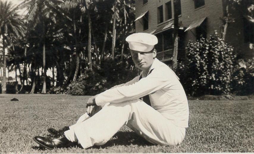 Mitch in Navy
