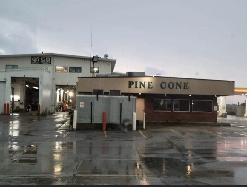 Pine Cone exterior