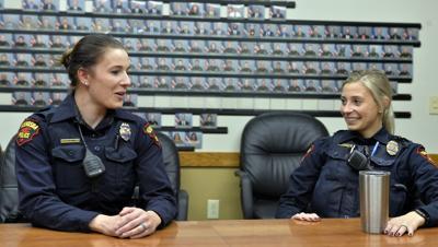 SISTERS ARE KENOSHA POLICE OFFICERS