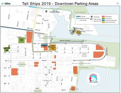 Tall Ships 2019 - Downtown Parking Areas