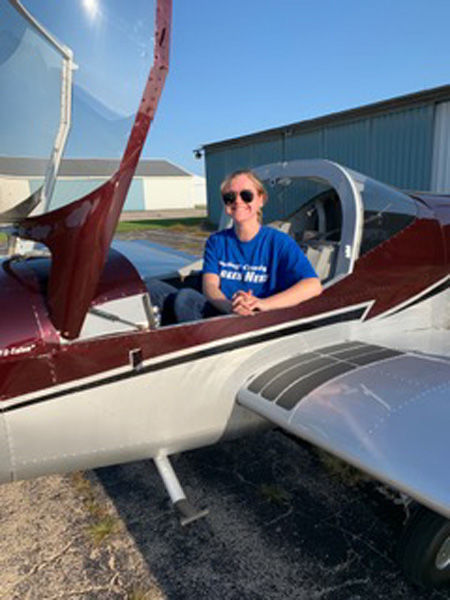 Countylines: Central High School student takes flight